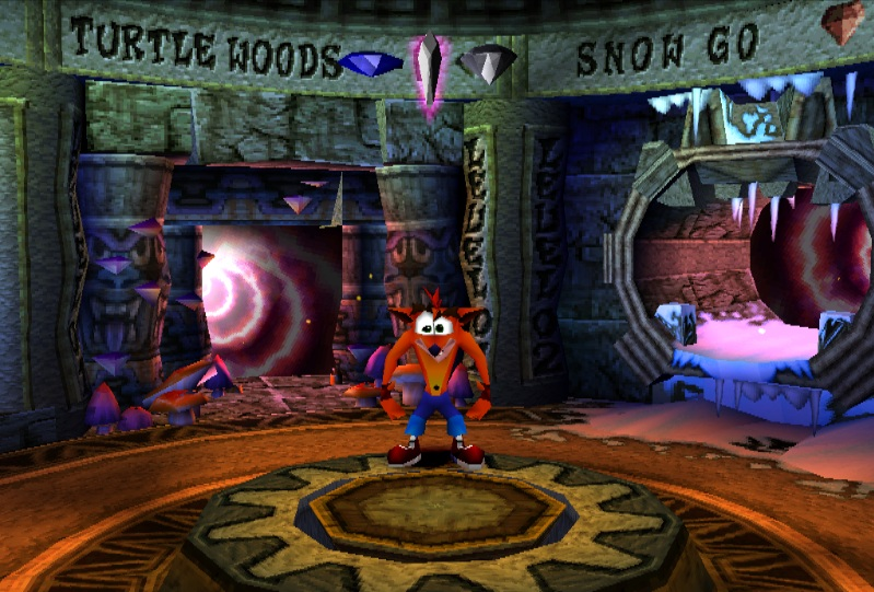 Crash Bandicoot 2 - Cortex Strikes Back [U] ISO < PSX ISOs